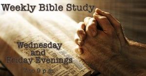Weekly Bible Stufy