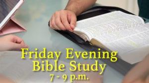 Friday Night Bible Study Indian Church Dallas Texas