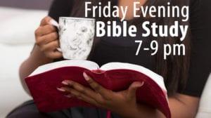 Friday Evening Bible Study at Indian Church Dallas
