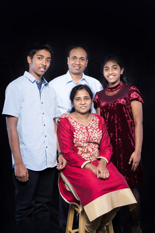 Sanjai Babu Family
