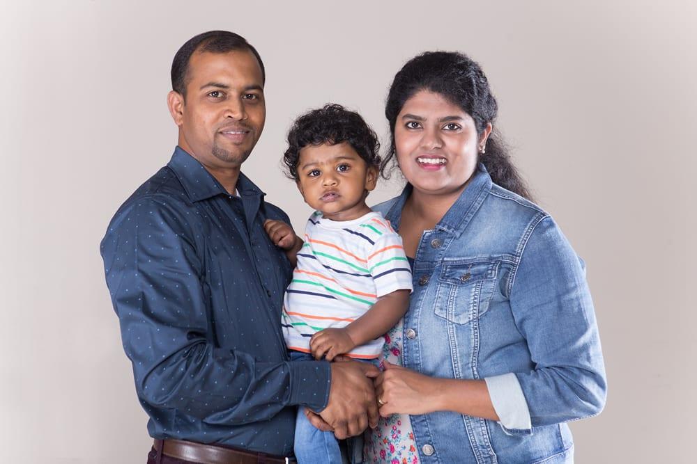 Sarah Soumya Family