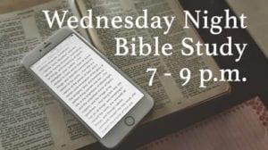 Wednesday Night Bible Study Indian Church Dallas, TX