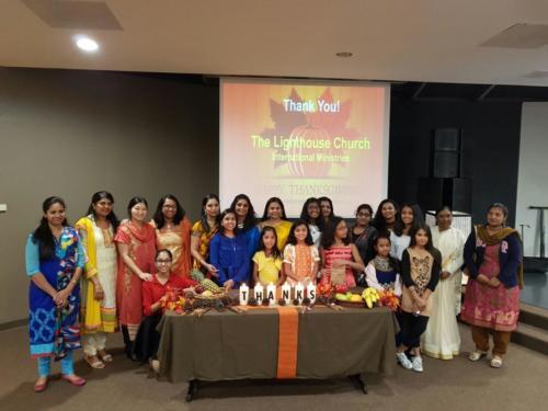 Indian Church Dallas 2016 Thanksgiving