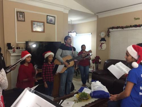 Indian Church Dallas 2017 Carol Singing