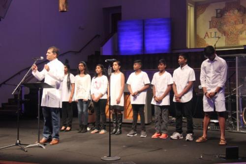 Indian Church Dallas Baptism