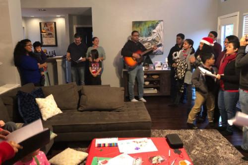 Indian Church Dallas Carol Singing