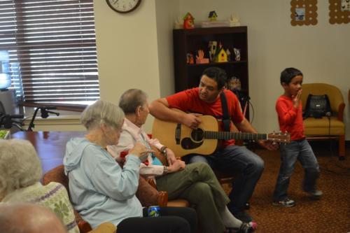 Indian Church Dallas Nursing Home Outreach