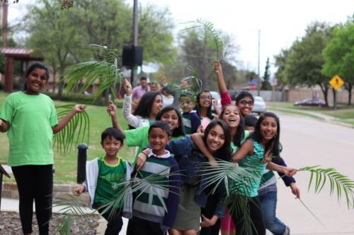 Indian Church Dallas Palm Sunday